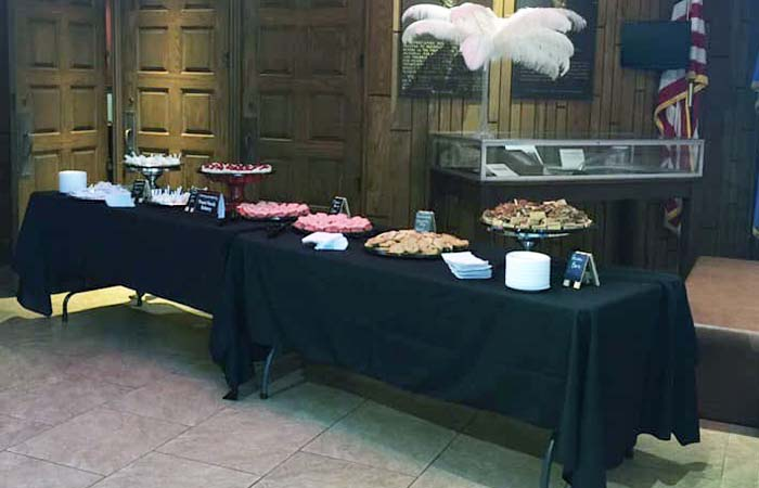 Front Porch Bakery Catering Service